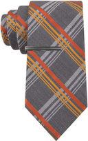 Jf J.Ferrar JF Neon Pop Plaid Tie - Extra Long