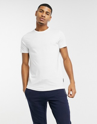 French Connection organic cotton boxy fit t-shirt in white