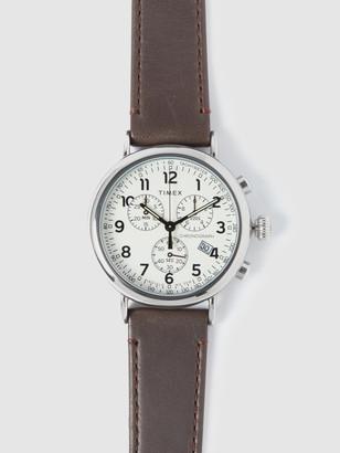 Timex 41mm Standard Chrono Watch