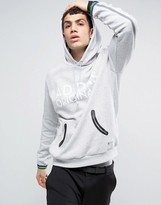 Adidas Originals Pullover Hoodie With Contrast Cuffs