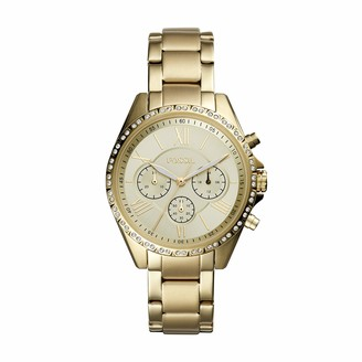 Fossil Women's Modern Courier Quartz Stainless Steel Chronograph Watch