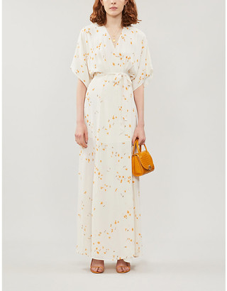 Reformation Winslow floral-print crepe maxi dress
