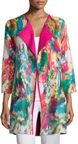 Berek Watercolor Crinkled Reversible Jacket