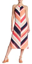 Laundry by Shelli Segal Printed Halter Maxi Dress