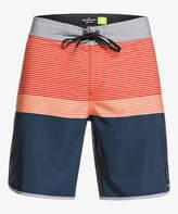 Quiksilver Men's Board Shorts MAJOLICA - Majolica Blue High Tij Board Shorts - Men & Big