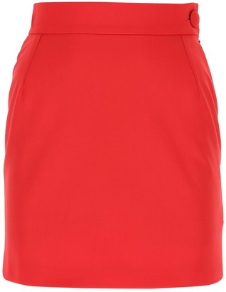 ATTICO High-Rise Mini Skirt