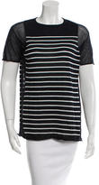 Alexander Wang Striped Knit T-Shirt