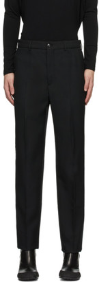 Random Identities Black Anthracite Classic Trousers