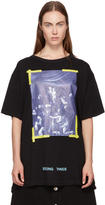 Off-White Black Diagonal Caravaggio T-Shirt