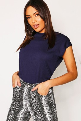 boohoo Basic Cap Sleeve T-Shirt