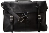 Ben Sherman Miners Briefcase (Black) - Bags and Luggage