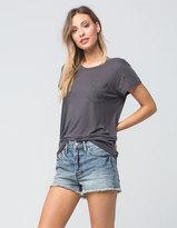 Free People Stilt Womens Denim Cutoff Shorts