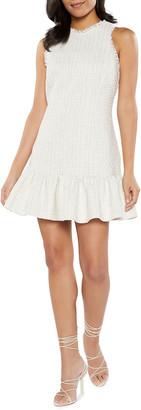 LIKELY Toni Flounce-Hem Mini Dress