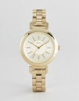 DKNY Gold Ellington Metal Watch