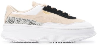 Puma DEVA reptile-effect sneakers