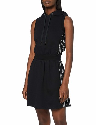 Armani Exchange Women's Recycled Cotton French Terry Dress