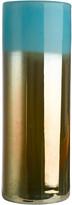 Pols Potten High Horizon Vase - Aqua/Gold