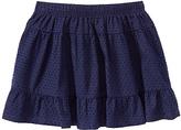 Gymboree Navy Swiss Dot Skirt - Girls
