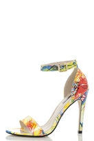 Quiz Rio Print Barely There Sandals