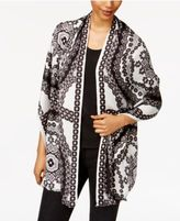 INC International Concepts Printed Wrap & Scarf in One, Created for Macy's