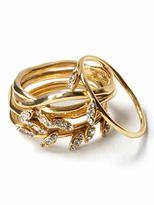 Leaf stackable rings