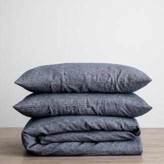 Lulu And GeorgiaLulu & Georgia Cultiver Linen Bedding, Indigo Duvet Set