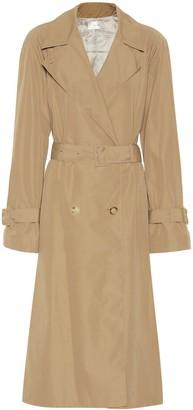 The Row Nueta cotton-blend trench coat