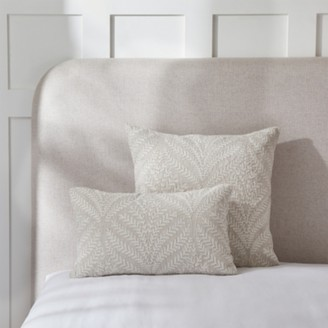 The White Company Clermont Cushion Cover , Natural, Small Rectangle