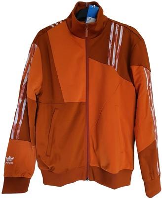 adidas Orange Polyester Jackets