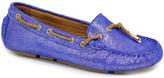Lamo Electric Blue Elite Suede Boat Shoe - Women