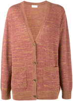 Dries Van Noten Nanetta knitted cardigan - women - Silk/Linen/Flax/Polyamide/Alpaca - XS