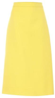 Prada Wool midi skirt