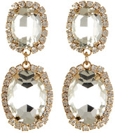 Cara Accessories Double Drop Earrings