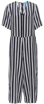 MiH Jeans Hart striped silk jumpsuit