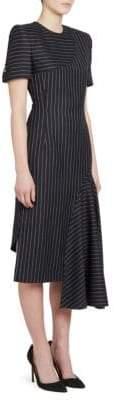 Thom Browne Slash Draped Pencil Dress