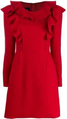 Giambattista Valli long-sleeve mini dress