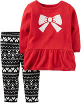 Carter's Girls Pant Set-Baby