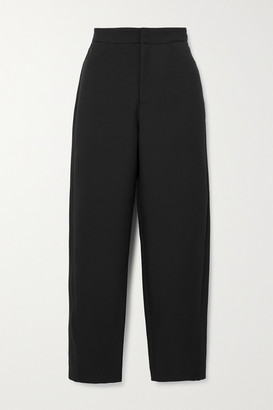 Totême Cropped Twill Straight-leg Pants