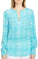 Lauren Ralph Lauren Ikat Print Tunic