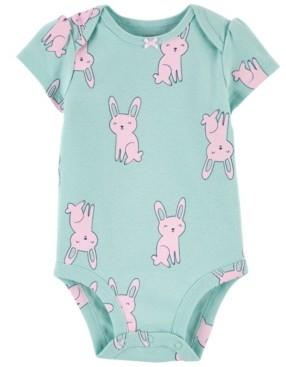 Carter's Baby Girl Bunny Bodysuit