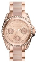 MICHAEL Michael Kors 'Mini Blair' Multifunction Bracelet Watch, 33mm
