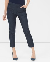 White House Black Market Wide-Leg Cropped Jeans