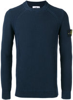 Stone Island textured knit jumper - men - Cotton - L