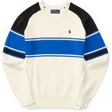 Ralph Lauren Boys 8-20 Knit Striped Sweater