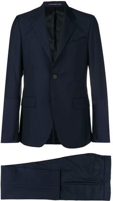 Givenchy textured stripe suit