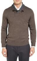 Toscano Shawl Collar Pullover Sweater