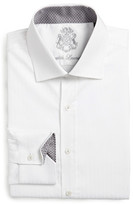 English Laundry Solid Trim Fit Dress Shirt