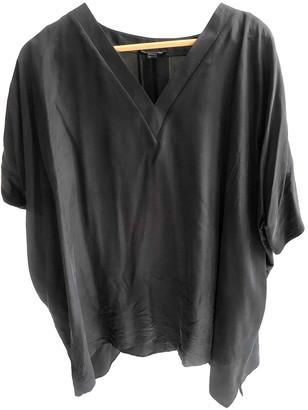 Cos Grey Silk Top for Women