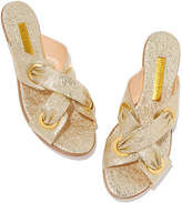 Rupert Sanderson Symmetry Laminate Sandals