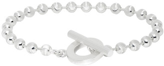 Gucci Silver Ball Chain Bracelet